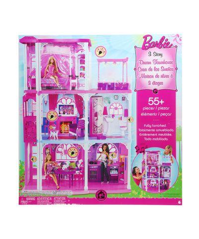 Barbie casa de los sue os 3 pisos pictures to pin on pinterest - Casa de barbie con ascensor ...